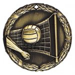 XR Medals -Volleyball  XR Series - Click Here For More Of This Style