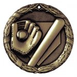 XR Medals -Baseball  XR Series - Click Here For More Of This Style